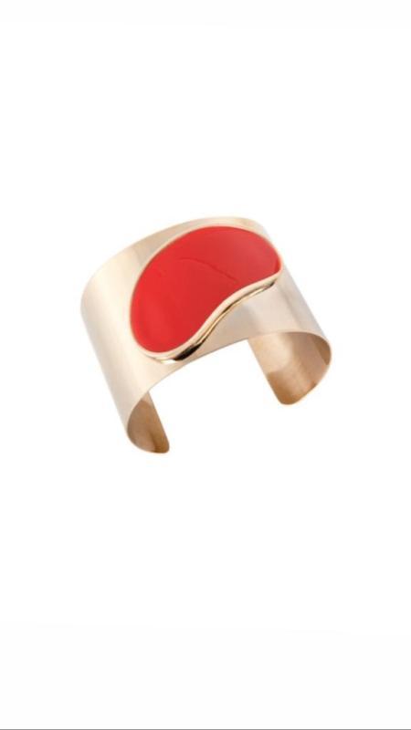 Bracelete Empire Vermelho M. Loures